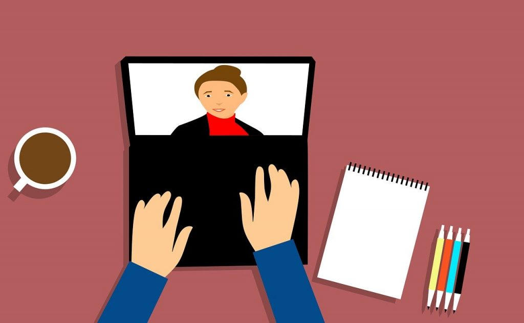 Online behandling
